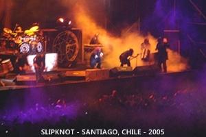 SKMX - Slipknot México - Chile 2005