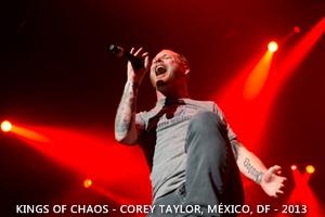 SKMX - Slipknot México - Kings Of Chaos 2013