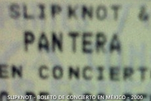 SKMX - Slipknot Pantera Mexico - 2000