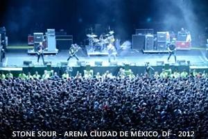 SKMX - Stone Sour en México - 2012