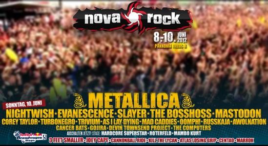 Corey Taylor participará en el Nova Rock Festival 2012