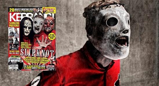 Slipknot en la nueva portada de le revista Kerrang