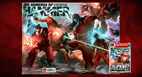 Slipknot en la Metal Hammer del mes de julio-2013