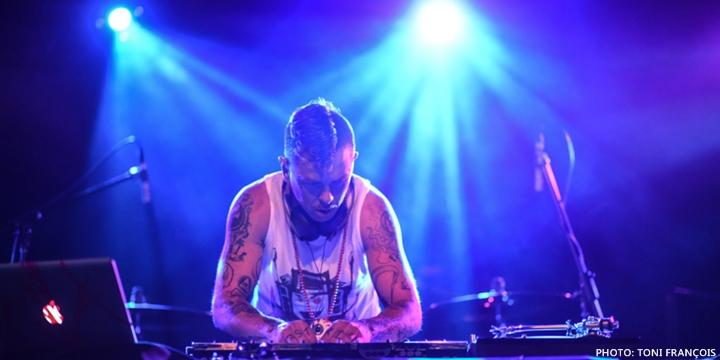 Sid Wilson en México-Slipknot
