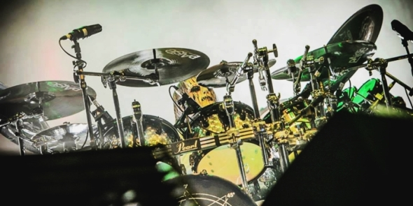 Joey Jordison - Last concert - Monsters of Rock Brasil 2013