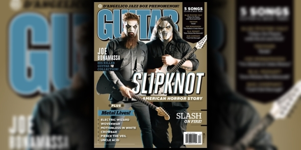 Slipknot - James Root Mick Thomson - Guitar World 2014