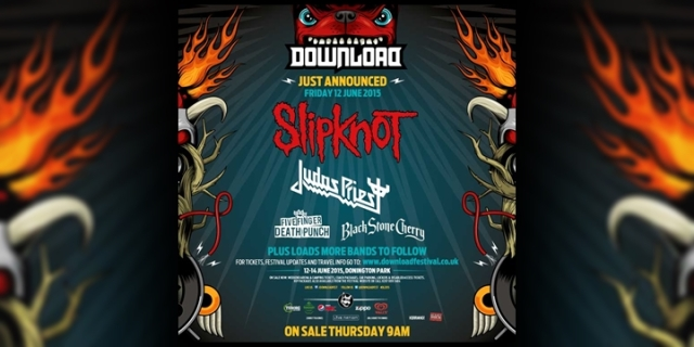 Slipknot - Headliner Download Festival 2015
