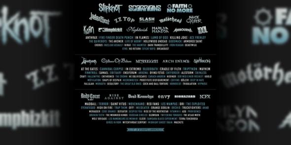 Slipknot Headliner Hellfest 2015 France