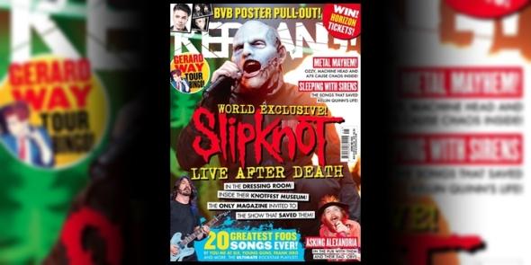 Slipknot - Kerrang! 2014
