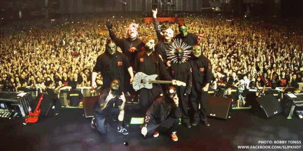 Slipknot Knot Fest Japan 2014