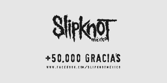 Slipknot México - 50 mil