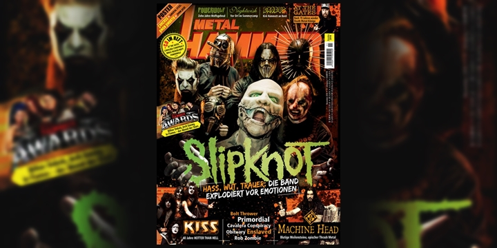 Slipknot Metal Hammer Germany 2014