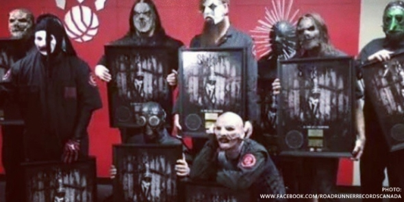 Slipknot - Gold Awards Canada 2014