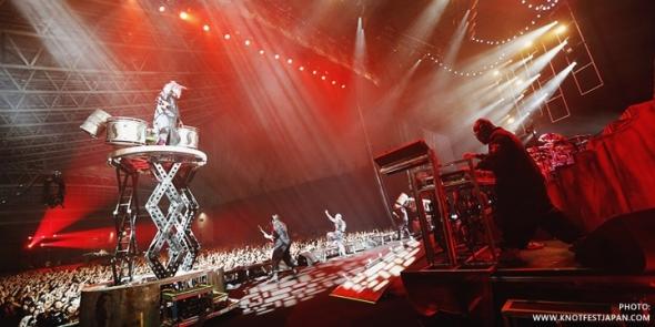 Slipknot - Photos Knot Fest Japan 2014