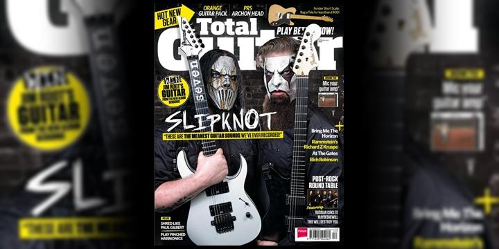 Slipknot - Total Guitar 2014 - James Root Mick Thomson