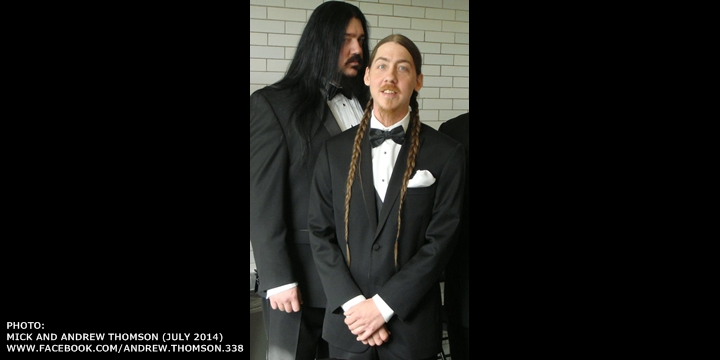 Slipknot - Mick Thomson Andrew Brother