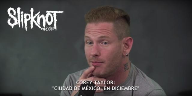 Slipknot en México - Diciembre 2015 - Taylor Revolver