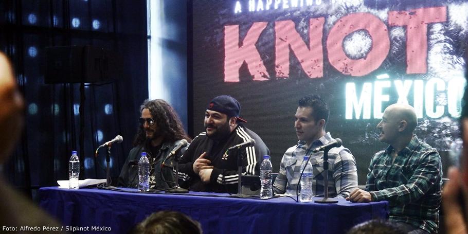 Conferencia de Prensa Knotfest Mexico
